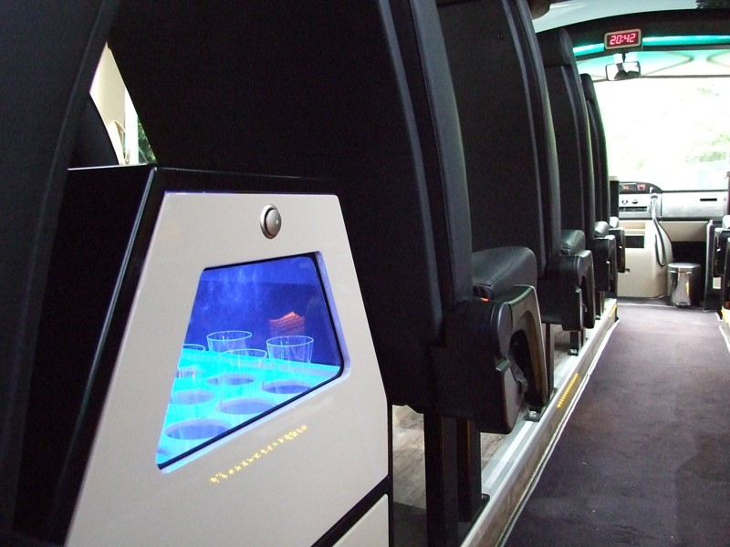Luxury Bus Interior Seat